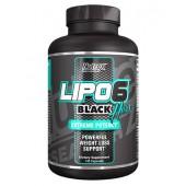 Lipo 6 Black Hers Nutrex Жиросжигатель 120 капс.