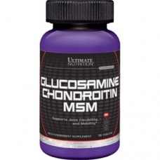 Ultimate Nutrition Glucosamine Chondroitin MSM 90 kaps