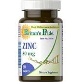 Puritan's Pride Zinc Gluconate Цинк 50 мг. 60 капс.