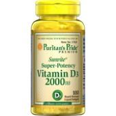 Puritan's Pride Vitamin D3 2000 IU Витамины 200 капс.